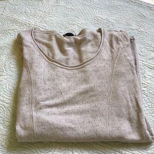 Club Monaco shirt/ taupe color